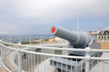 Cannon At Europa Point Royalty Free Stock Photography - 40044817