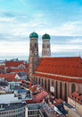 The Church Of Our Lady (Frauenkirche) In Munich. Stock Image - 40048381