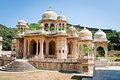 Memorial Grounds To Maharaja Sawai Mansingh II, Jaipur, Rajasthan, India. Royalty Free Stock Photos - 40054128