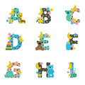 Alphabet Baby From A To I Royalty Free Stock Photo - 40056795