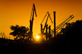 Industrial Sunset Royalty Free Stock Images - 40059559