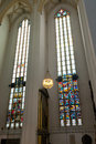 Stained Glass From Frauenkirche In Munich Royalty Free Stock Photo - 40063395