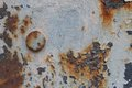 Rusty Metal Surface With Cracked Paint And A Large Bolt Royalty Free Stock Photo - 40067415