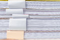 Close Up Of Stack Of Papers Royalty Free Stock Photos - 40071588