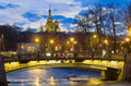 Evening In St.-Petersburg, Russia Stock Photography - 40072672