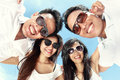 Group Of Happy Young People Have Fun On Summer Day Royalty Free Stock Photo - 40094255