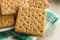 Healthy Honey Graham Crackers Stock Photography - 40099172