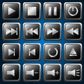 Media Player Buttons Royalty Free Stock Images - 40108629