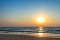 Sunset At Sea Beach Royalty Free Stock Image - 40139646