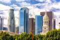Downtown Los Angeles Financial District Royalty Free Stock Photography - 40145647