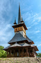 Wood Church From Maramures Royalty Free Stock Photography - 40146587