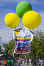 Colored Balloons Lifting Giant T-shirt Royalty Free Stock Photo - 40157135