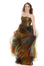 Teen Girl In Party Dress Royalty Free Stock Images - 40167089