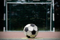 Old Soccer Ball Stock Image - 40179521