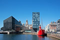 View Of Liverpool S Historic Waterfront Stock Images - 40183744