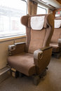 First Class Seat Stock Image - 40186731