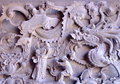 Chinese Traditional Marble Relief Stock Image - 40196421