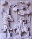 Chinese Traditional Marble Relief Royalty Free Stock Images - 40196469