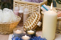 Spa Candles Composition Stock Images - 4024214