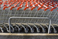 Shopping Trolleys Royalty Free Stock Images - 4025209