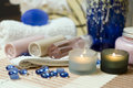 Spa Brush And Towel Stock Photo - 4027320