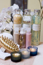 Spa Bottles Composition Royalty Free Stock Image - 4027396
