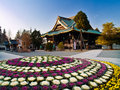 Japanese Temple Royalty Free Stock Photo - 4028055