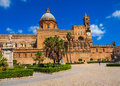 The Cathedral Of Palermo Stock Photo - 40203230
