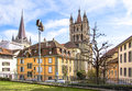 Lausanne Cathedral Royalty Free Stock Photography - 40203947