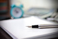 Pen And  Notebook Stock Photography - 40209522