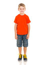 Cute Boy Standing Royalty Free Stock Image - 40214306