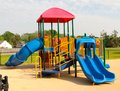 Colorful, Unique And Beautiful Children S Playground Royalty Free Stock Image - 40214596
