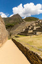 Mysterious City - Machu Picchu, Peru,South America. The Incan Ruins. Royalty Free Stock Photography - 40214737