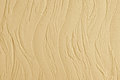 Decorative Plaster. Wall Stucco Texture. In Style Waves, Beige Color. Stock Photography - 40217202