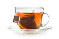 A Cup Of Tea With Tea Bag Royalty Free Stock Image - 40219036