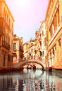 Typical Venice Street Royalty Free Stock Photo - 40220315