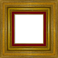 Picture Frame Gold Wood Frame Royalty Free Stock Image - 40231016