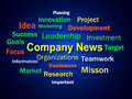 Company News Brainstorm Shows Whats New In Royalty Free Stock Images - 40231479