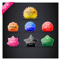 Collection Of Premium Quality Labels. Stock Photo - 40231850