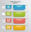 Set Of Bookmarks, Stickers, Labels, Tags Royalty Free Stock Photography - 40234707