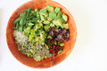 Salad Bowl Unmixed Royalty Free Stock Images - 40237049