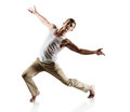 Caucasian Male Dancer Royalty Free Stock Photo - 40247335