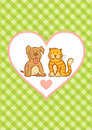 Cat And Dog Stock Photo - 40286660