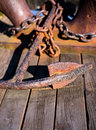 Old Rusted Anchor Royalty Free Stock Photography - 40306867