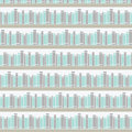 Seamless Pattern With Books On A Bookshelf Royalty Free Stock Photo - 40307915