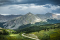 Cottonwood Pass, Colorado Continental Divide Royalty Free Stock Photography - 40323957