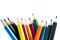 Colourful Pencils Isolated Royalty Free Stock Photos - 40327068