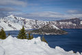 Crater Lake Oregon Royalty Free Stock Image - 40330996