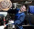 Car Mechanic At Work Stock Photos - 40342043