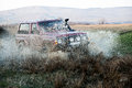 Off Road Car In Mud Stock Images - 40342064